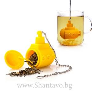 Филтър за чай - жълта подводница
