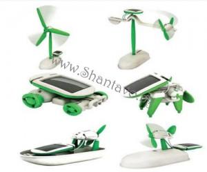 соларна еко играчка 6 в 1