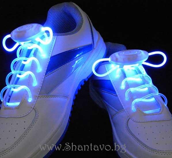 Светещи връзки за обувки