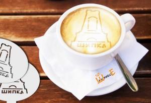 шаблон за кафе паметника Шипка