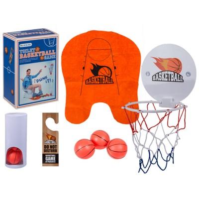 Забава за цялото семейство - баскетбол за тоалетна
