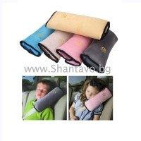 Комфорт в колата с мека възглавничка за колан