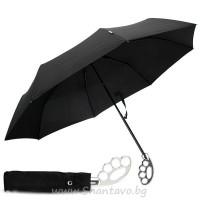 Чадър с бокс дръжка