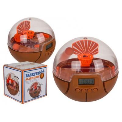 Часовник будилник с баскетболен кош