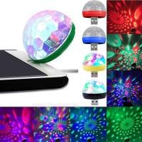 Мини usb диско топка за телефон или компютър