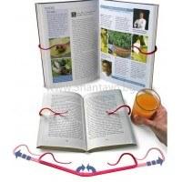 Държач за книга, който пази страниците от разлистване