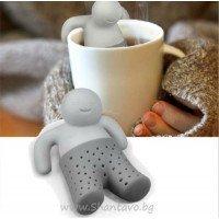 Филтър за чай облегнато човече - Mr. Tea