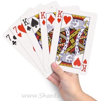 Гигантски XXL карти за игра