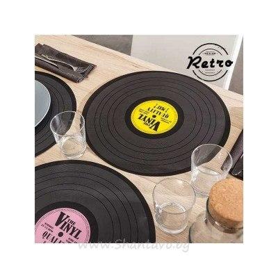 Поставка за чинии грамофонна плоча - 1 бр