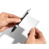 Химикал със скрито навиващо се листче за преписване