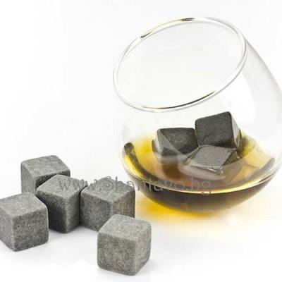 Стилни камъни за уиски и вино вместо лед - 9 броя
