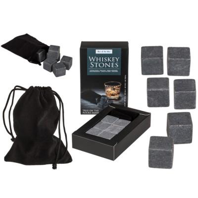 Стилни камъни за уиски и вино вместо лед - 6 броя