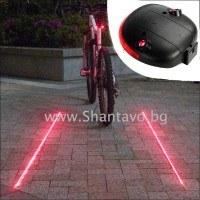 Лазер и стоп за колело за повече безопасност на пътя