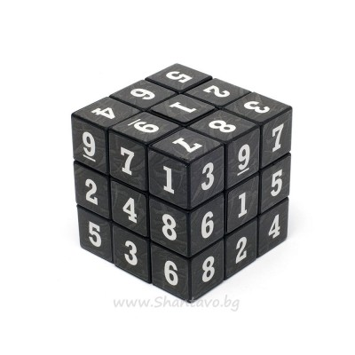 Логически судоку куб за нареждане