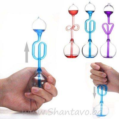Стъклено шишенце - магически термометър