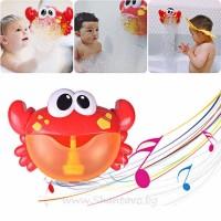 Машина за правене на балончета (пяна) в банята