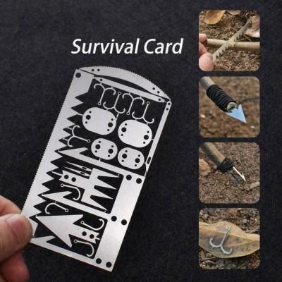 Многофункционален инструмент за оцеляване с 22 части