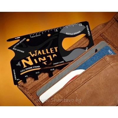 Нинджа инструмент в джобен размер 18 в 1