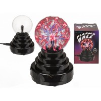 Плазмена топка, реагираща на допир - нощна лампа