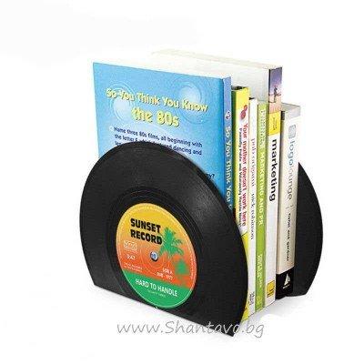 Поставка за книги - грамофони плочи