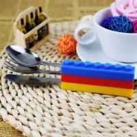 Вилица, лъжица и ножче - конструктор LEGO