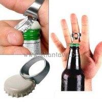 Стоманен пръстен отварачка за бутилки бира