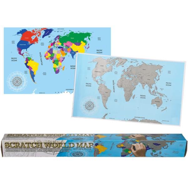 744d27ee116 Скреч карта на света за истински пътешественици   За дома   ШантавоЕ