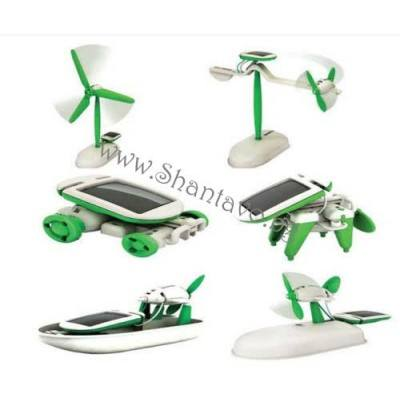 Образователна еко соларна играчка 6 в 1 - конструктор