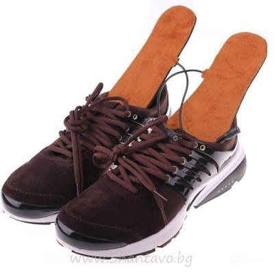 Удобни загряващи usb стелки за обувки или пантофи