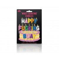 Свещички за рожден ден Happy Fucking Bday