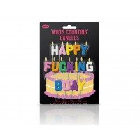 Свещички за рожден Happy Fucking Bday