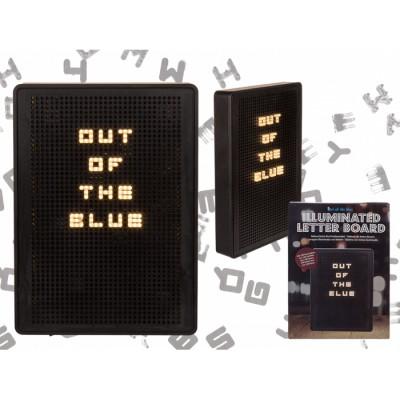 Табло за надписи със светещи букви - 200 символа в комплект