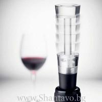 Тапа за вино с вакуум за запазване на виното
