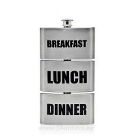 Тройна манерка (фласка) за закуска, обяд и вечеря